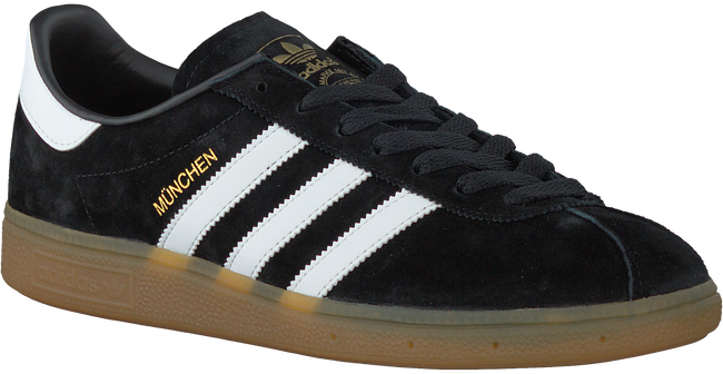 Zwarte ADIDAS Sneakers MUNCHEN HEREN  - large