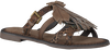 Bruine LAZAMANI Slippers 75.329  - small