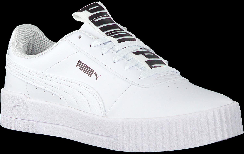 Witte PUMA Lage sneakers CARINA BOLD | Omoda