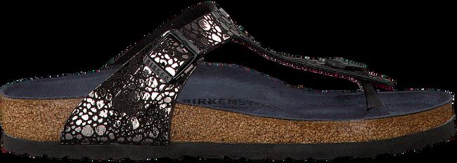 Zwarte BIRKENSTOCK PAPILLIO Slippers GIZEH METALLIC STONES  - large