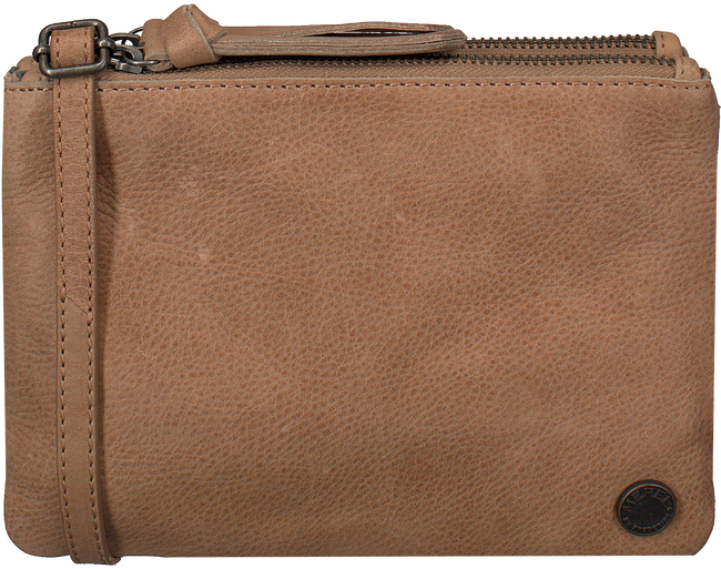Cognac MEREL BY FREDERIEK Clutch HAZY BAG - large