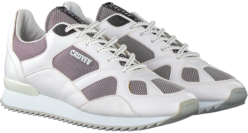 Witte CRUYFF Lage sneakers CATORCE - larger