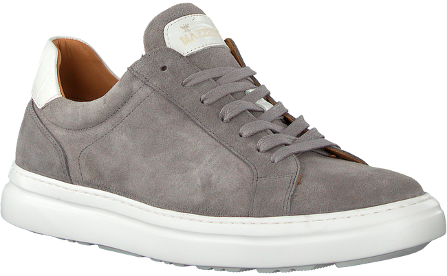 Grijze MAZZELTOV Lage sneakers 5405  - large