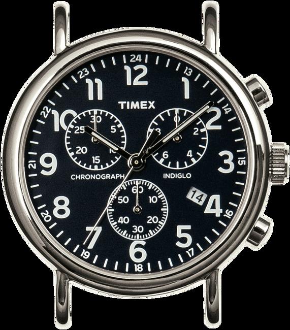Zilveren TIMEX Horloge WEEKENDER CHRONO - large