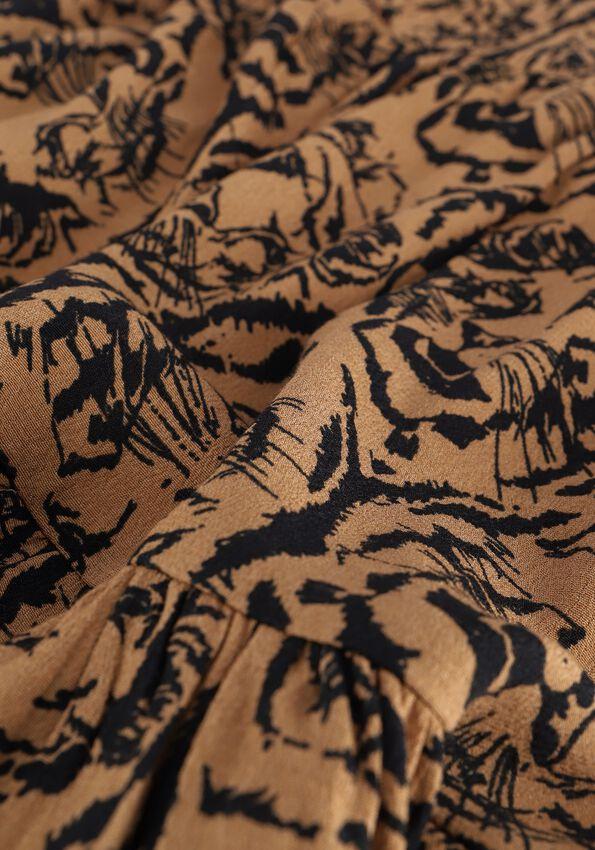 Bruine ALIX THE LABEL Minirok TIGERHEAD SKIRT - larger
