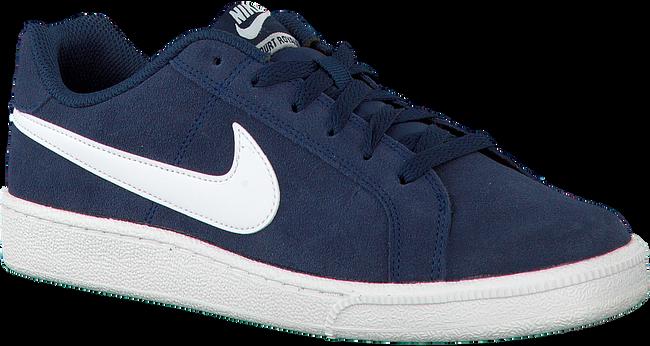 Blauwe NIKE Sneakers COURT ROYALE SUEDE MEN