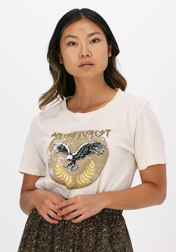 Beige CIRCLE OF TRUST T-shirt SURI TEE - larger