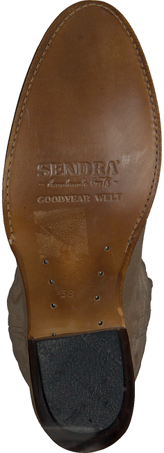 Beige SENDRA Cowboylaarzen 11627  - large