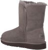 Grijze UGG Vachtlaarzen BAILEY BUTTON KIDS  - small