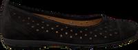 Zwarte GABOR Ballerina's 169  - medium
