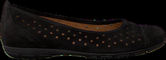 Zwarte GABOR Ballerina's 169  - large