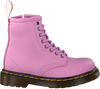 Roze DR MARTENS Veterboots 1460 K DELANEY - small