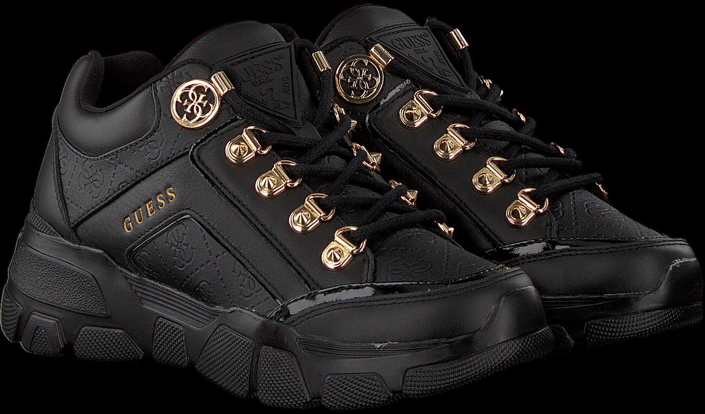 Zwarte GUESS Sneakers SIKE3 | Omoda