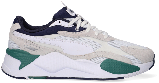 Witte PUMA Lage sneakers RS-X3 TWILL AIRMESH  - large