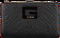 Zwarte GUESS Portemonnee BRIGHTSIDE SLG DBL ZIP ORGNZR  - medium