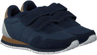 Blauwe WODEN Lage sneakers NOR SUEDE  - medium