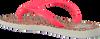 Roze HAVAIANAS Slippers KIDS SLIM ANIMALS  - small