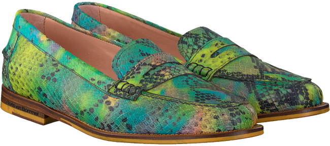 Groene FLORIS VAN BOMMEL Loafers 85409  - large