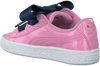 Roze PUMA Sneakers BASKET HEART PATENT KIDS  - small