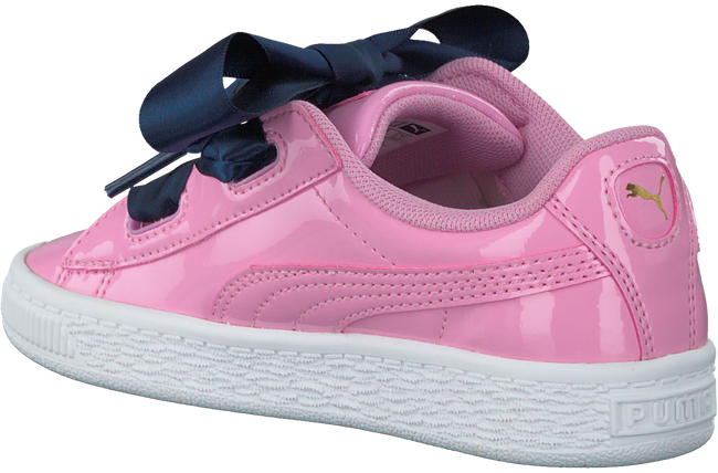PUMA SNEAKERS BASKET HEART PATENT KIDS - large
