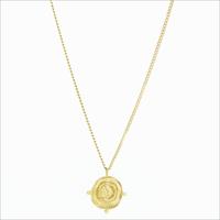 Gouden NOTRE-V Ketting KETTING MUNT  - medium