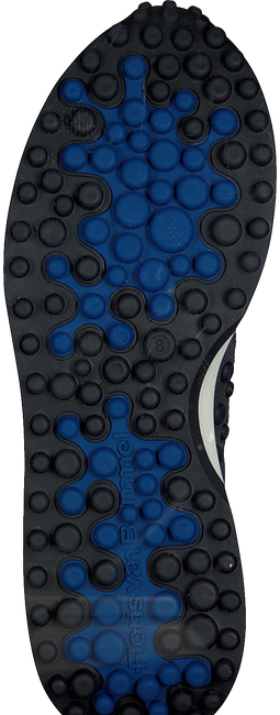 Zilveren FLORIS VAN BOMMEL Lage sneakers 16301  - large