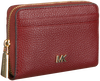 Rode MICHAEL KORS Portemonnee ZA COIN CARD CASE  - small