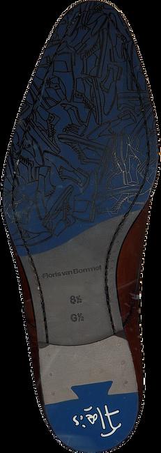 Cognac FLORIS VAN BOMMEL Nette Schoenen 18075 - large
