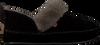 Zwarte WARMBAT Pantoffels POLARFOX WOMEN SUEDE - small