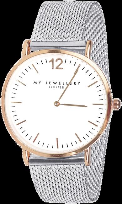 Zilveren MY JEWELLERY Horloge MY JEWELLERY BICOLOR WATCH LIM - large