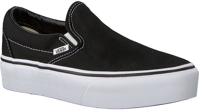 Zwarte VANS Sneakers CLASSIC SLIP-ON PLATFORM - large