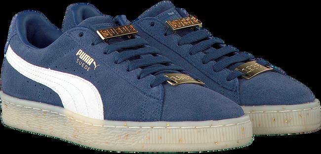 Blauwe PUMA Sneakers SUEDE CLASSIC BBOY DAMES