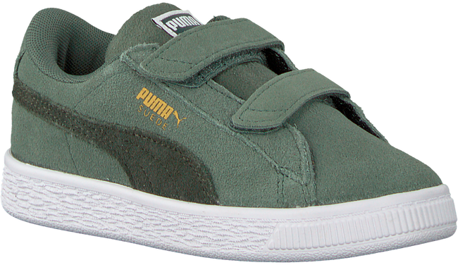 Groene PUMA Sneakers SUEDE CLASSIC INF - large