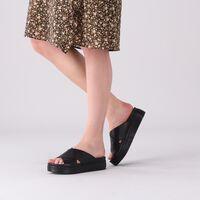 Zwarte SHABBIES Slippers 170020162  - medium