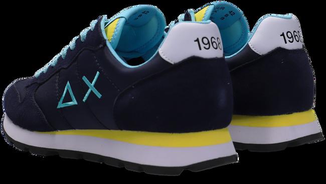 Blauwe SUN68 Lage sneakers TOM SOLID NYLON MEN  - large