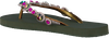 Groene UZURII Slippers COLORFUL MARILYN - small