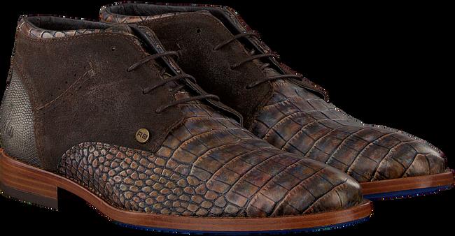 Bruine REHAB Nette schoenen SALVADOR CROCO - large