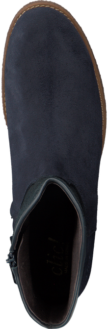 Blauwe CLIC! Enkellaarsjes CL8887  - large