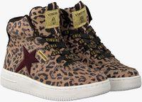 Bruine VINGINO Sneakers LOTTE MID  - medium