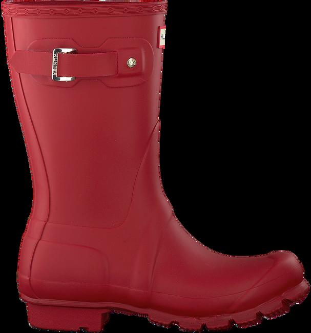 Rode HUNTER Regenlaarzen WOMENS ORIGINAL SHORT - large