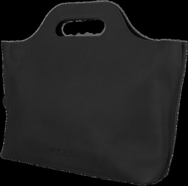 Zwarte MYOMY Handtas MY CARRY BAG HANDBAG - large