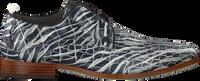 Grijze REHAB Nette schoenen GREG CROCO ZEBRA  - medium