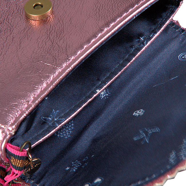 Roze LE BIG Schoudertas TAZA BAG  - large
