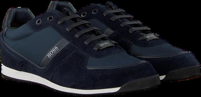 Blauwe BOSS Lage sneakers GLAZE LOWP  - large