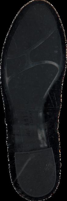 Zwarte HASSIA Enkellaarsjes 0984 - large
