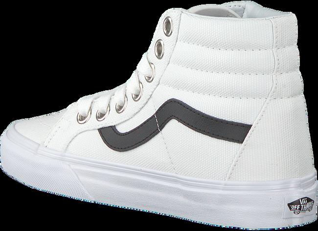 Witte VANS Sneakers SK8 HI REISSUE WMN - large