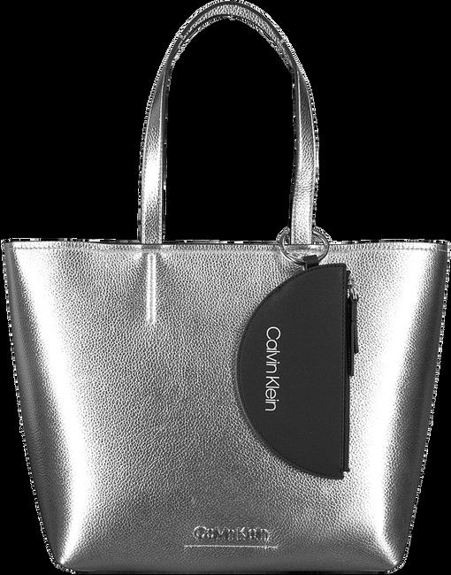 Zilveren CALVIN KLEIN Shopper CK MUST MEDIUM SHOPPER - large