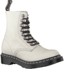 Witte DR MARTENS Veterboots 1460 PASCAL HDW  - small