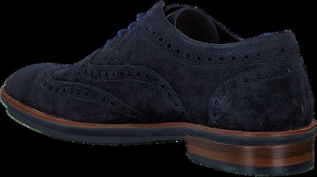 Blauwe FLORIS VAN BOMMEL Nette schoenen 19048  - large