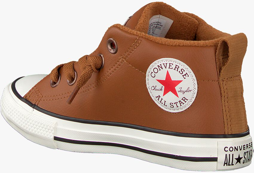 Cognac CONVERSE Sneakers STREET RED ROVER-MID  - larger